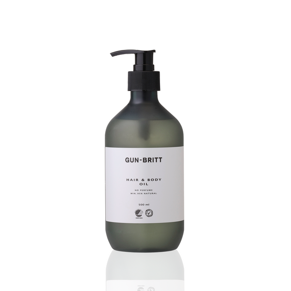 Gun-Britt Hair & Body Oil Svane & Allergy mærket