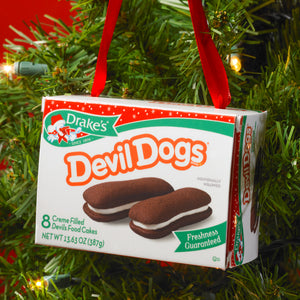 Drake's® Cakes Devil Dogs® Mini Carton Ornament