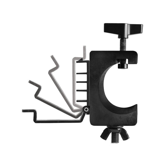 On-Stage Lighting Clamp with Cable Management, Pair