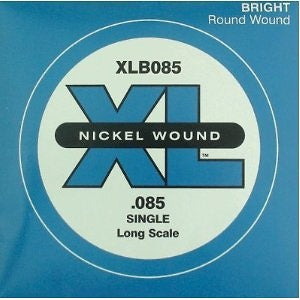 D'Addario Single XL Nickel Wound .085 Long Scale