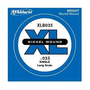 D'Addario Single XL Nickel Wound .035 Long Scale