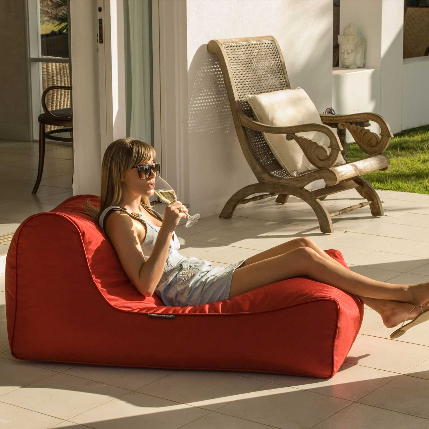 Studio Lounger Toro Red7