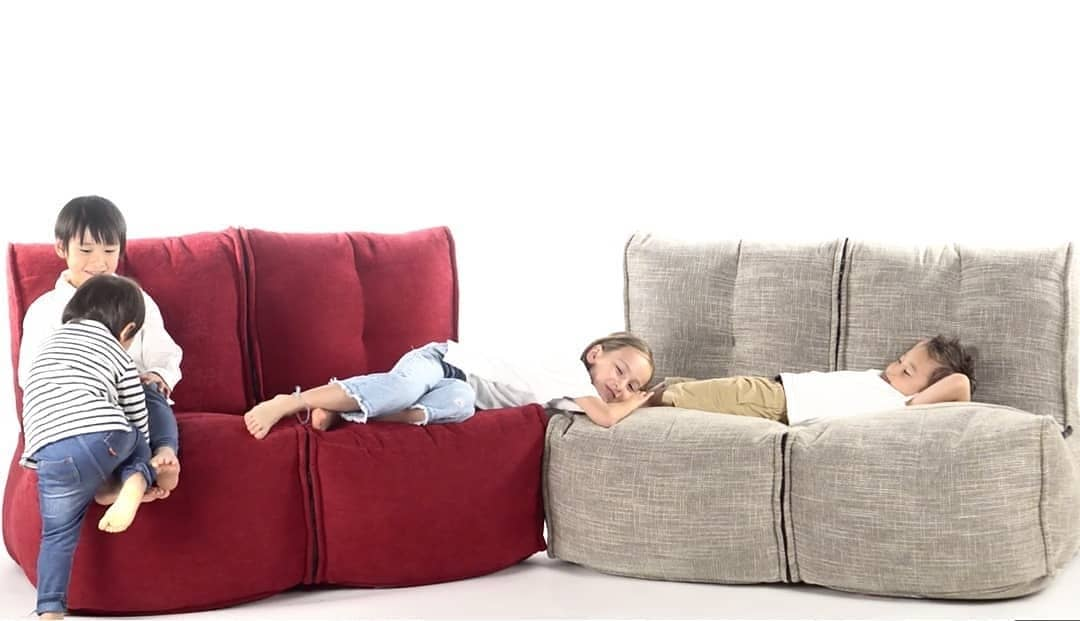 Twin Couch Modulsofa Wildberry Deluxe6