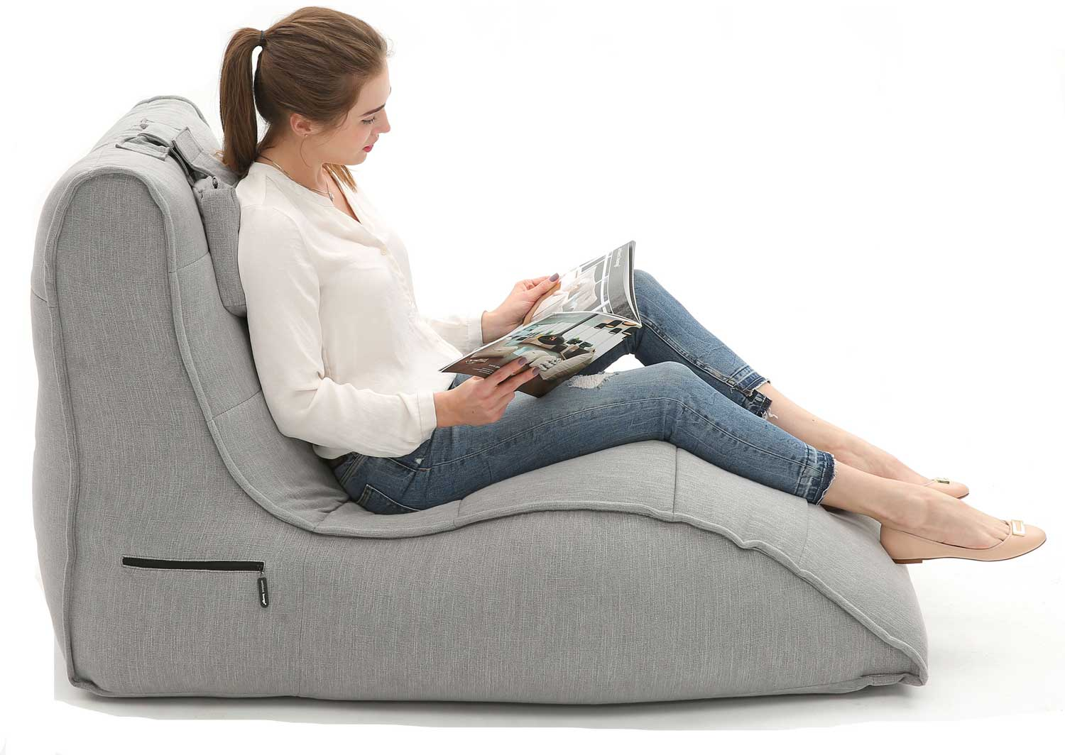 Avatar Lounger Keystone Grey