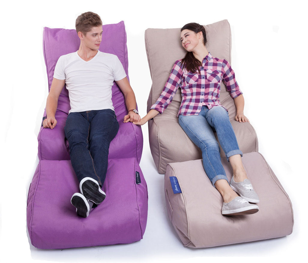 Evolution Chaise Sett Acai Merlot2