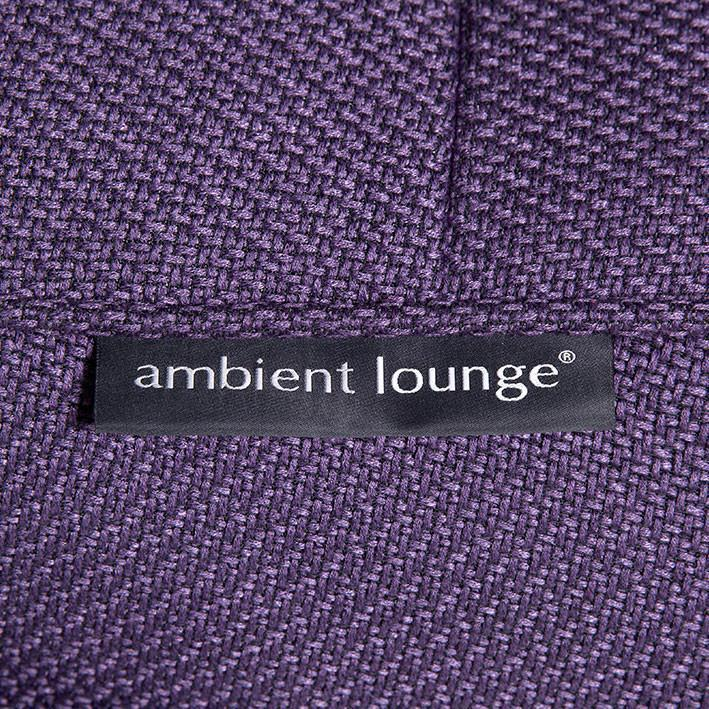 Zen Lounger Aubergine Dream material