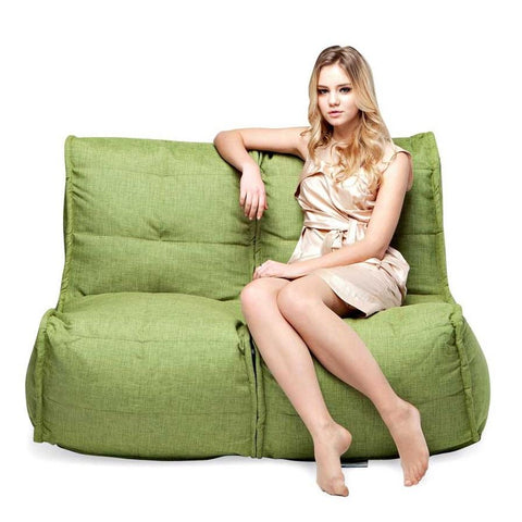 Twin Couch Modulsofa Lime Citrus