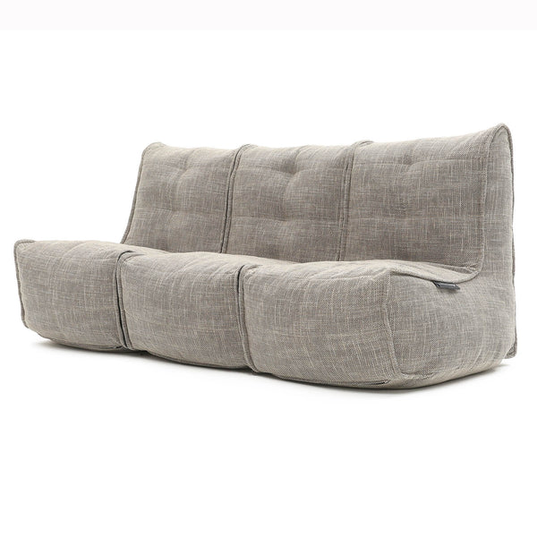 Mod 3 Movie Couch Modulsofa Eco Weave Mod 3 Movie Couch