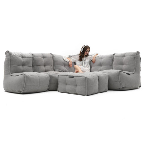 Mod 5 Living Lounge Modulsofa Keystone Grey