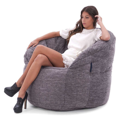 Butterfly Sofa Luscious Grey