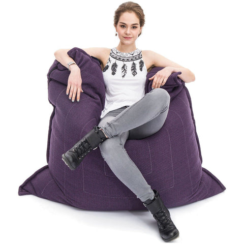 Zen Lounger Aubergine Dream