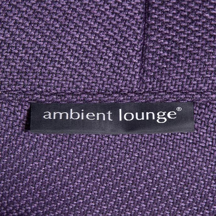 Studio Lounger Aubergine Dream material
