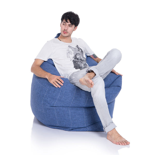 Zen Lounger Blue Jazz Sakkosekk Zen Lounger Indoor