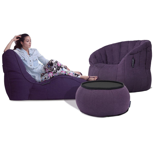 Loft Package Sett Aubergine Dream