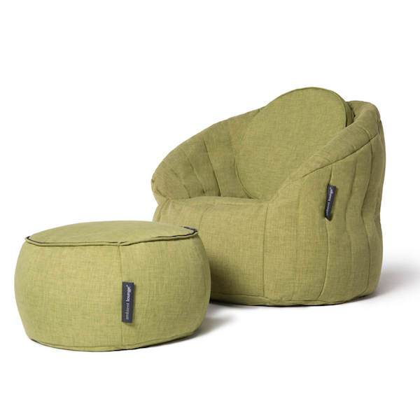 Butterfly Chaise Sett Lime Citrus Buttery chaise Indoor
