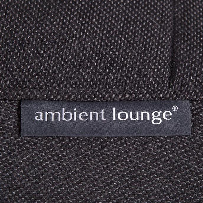 Studio Lounger Black Sapphire material