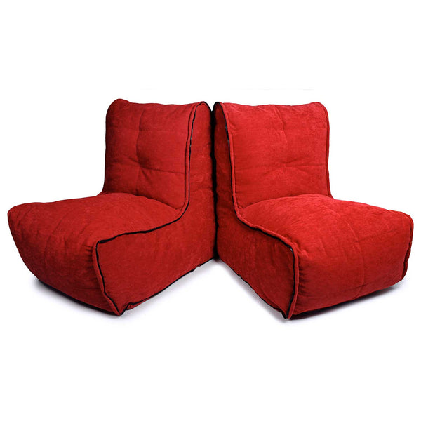 Twin Couch Modulsofa Wildberry Deluxe Sakkosekk Twin Couch