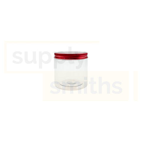 Plastic Container [8.5cm Diameter, 8.5cm Height] - 67 pcs/pack