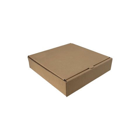 "8"" Brown Pizza Box - 50 pcs/pack"