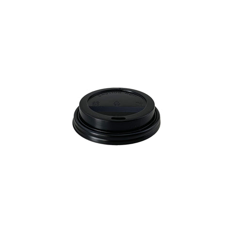 80mm Black Lid (8oz) - 1000 pcs/ctn