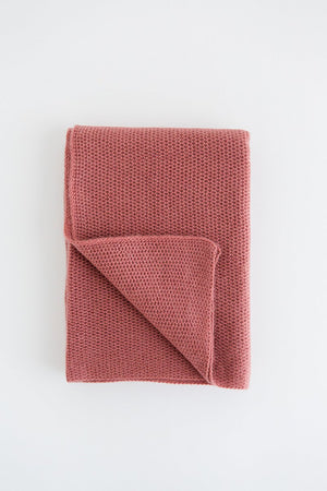 Dusty Pink Baby Blanket
