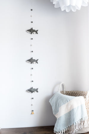 Shark Banner, Under the sea party decor, Baby shark doo doo, Nivas Collection