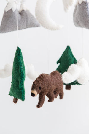 Woodland Bear Mobile