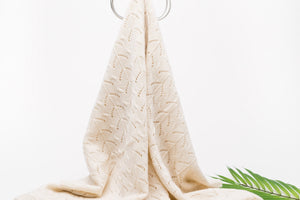 ivory cashmere blanket, heirlom baby blanket, Nivas Collection