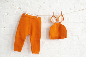 Fox Knitted Baby Set