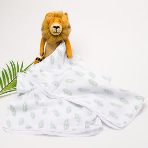 Jungle theme toddler blanket and toy set