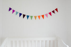 rainbow banner, rainbow flags, rainbow decor, Nivas Collection