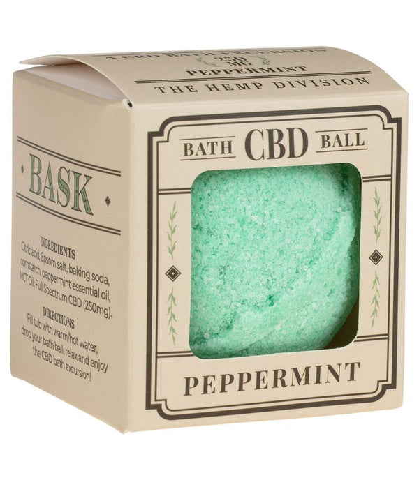 CBD Bath Ball - Peppermint - 250 MG