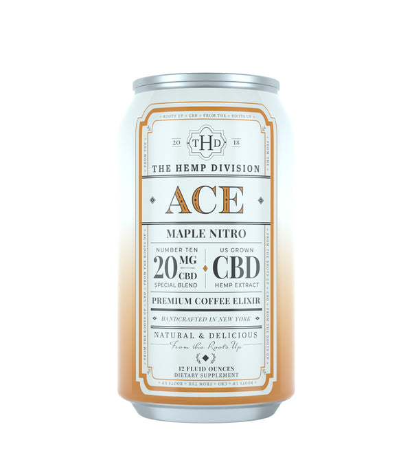 Ace - Case of 8 Cans - 20 MG CBD