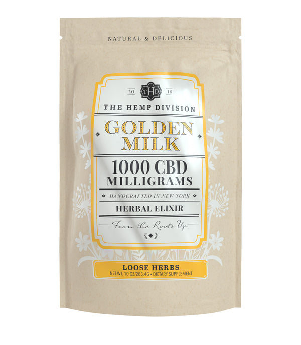 Golden Milk - 1,000 MG CBD (Loose, 10 oz. Bag)