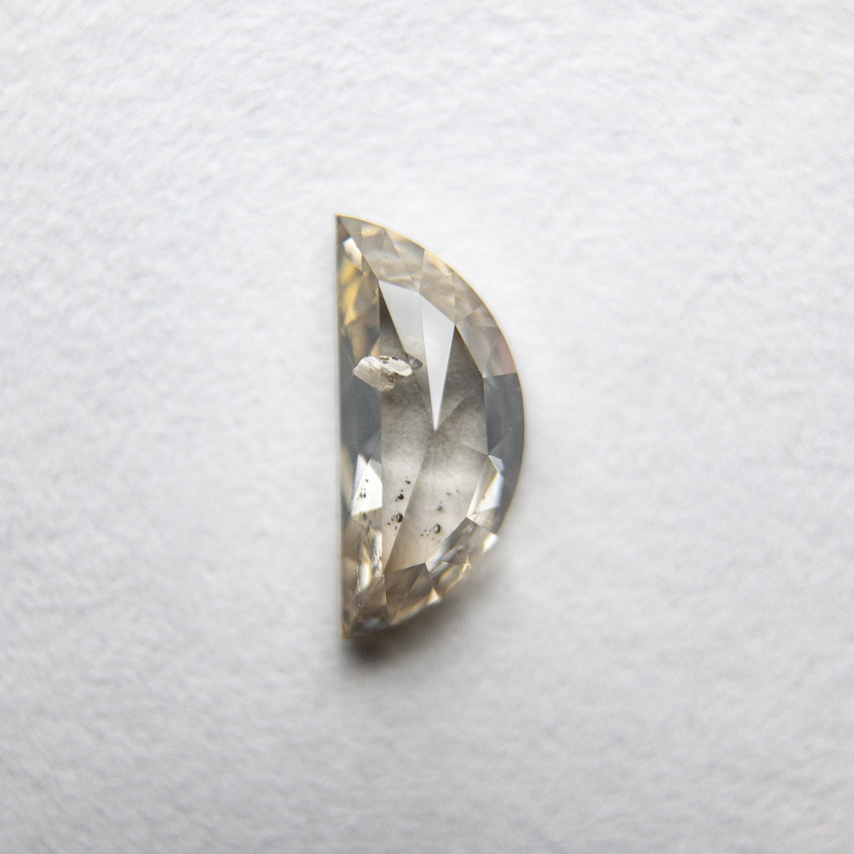 0.57ct 7.72x3.51x2.35mm Half Moon Rosecut 18090-20