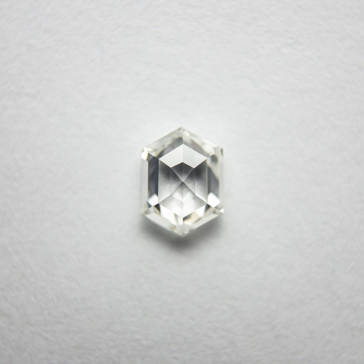 0.49ct 5.53x4.18x2.36mm VS2 J/K Hexagon Rosecut 18107-02