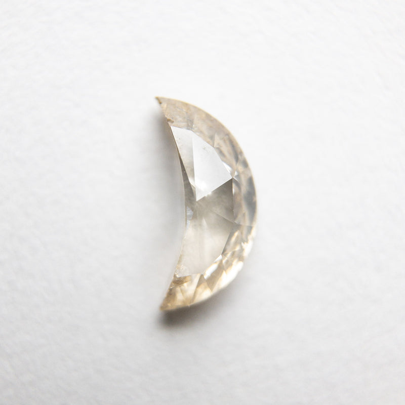 0.58ct 7.94x3.77x2.58mm Crescent Moon Rosecut 18190-03