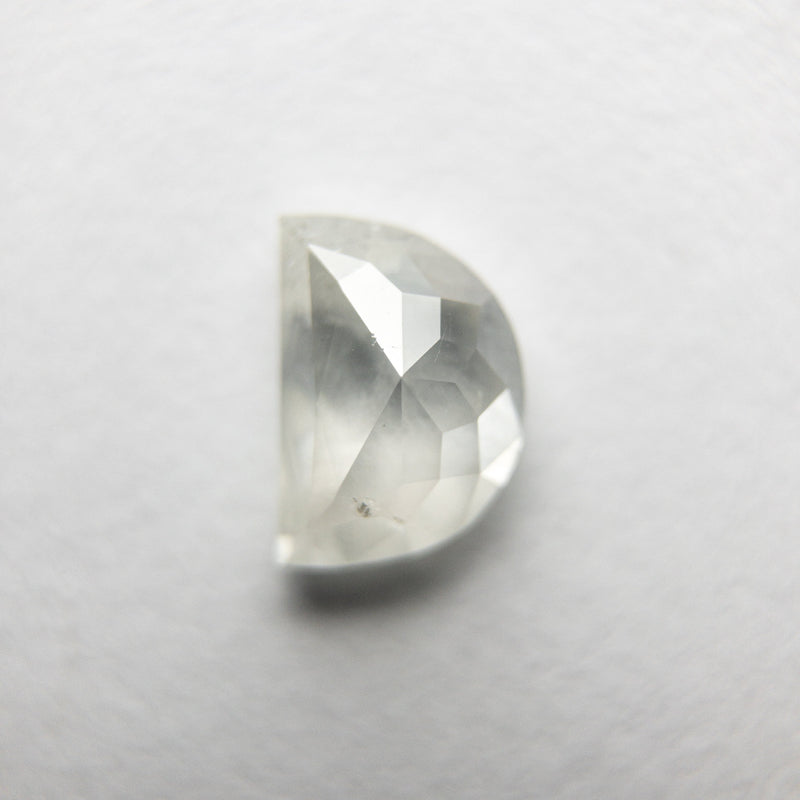 0.80ct 6.37x4.44x2.95mm Half Moon Rosecut 18351-15
