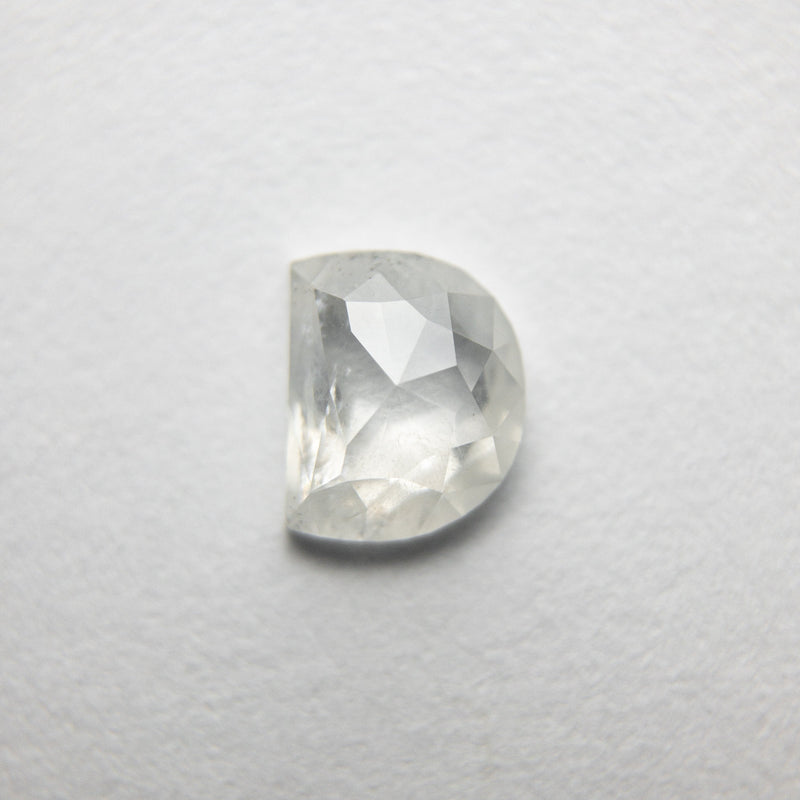 0.61ct 5.72x4.66x2.17mm Half Moon Rosecut 18351-16