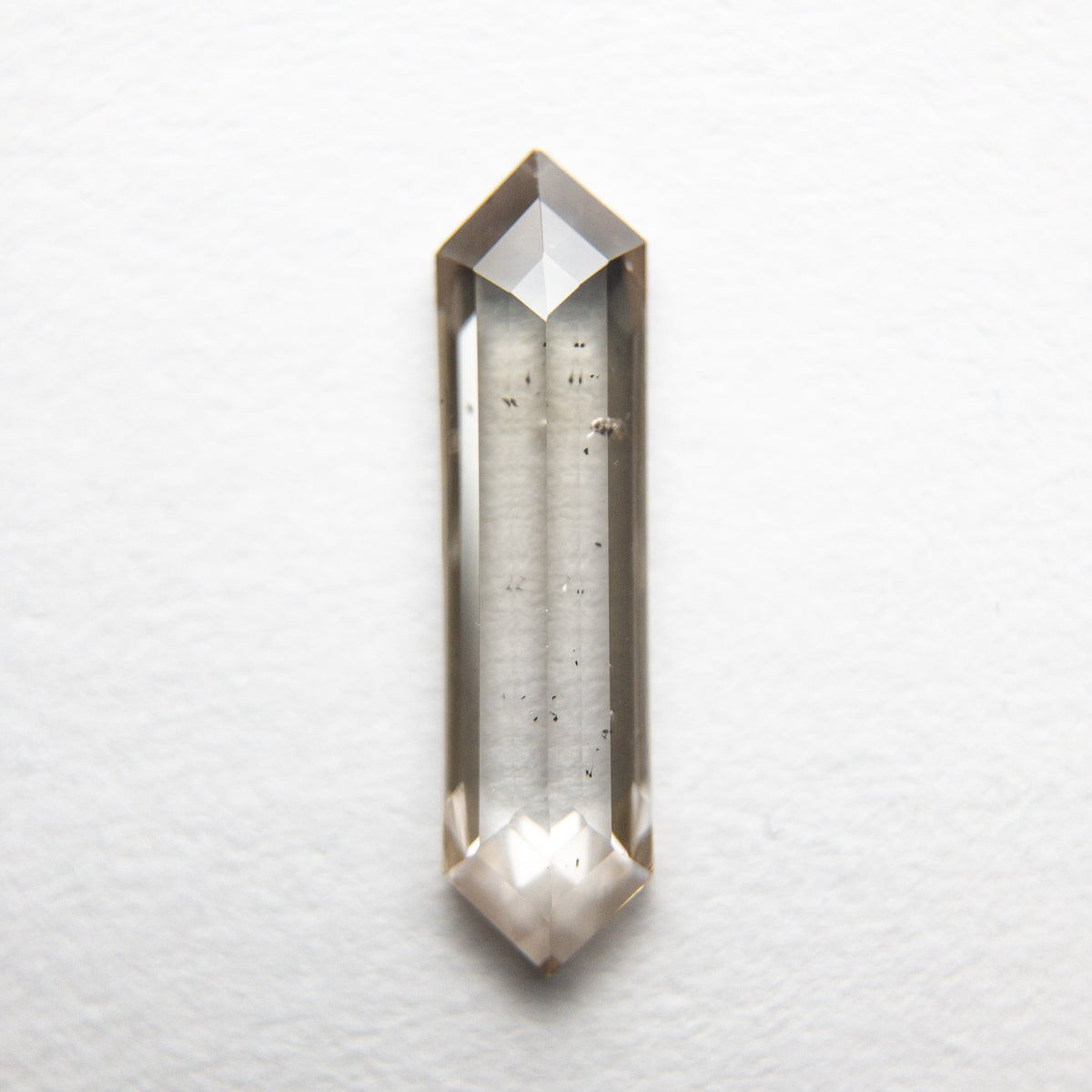 0.69ct 11.90x3.11x1.69mm Hexagon Rosecut 18369-04