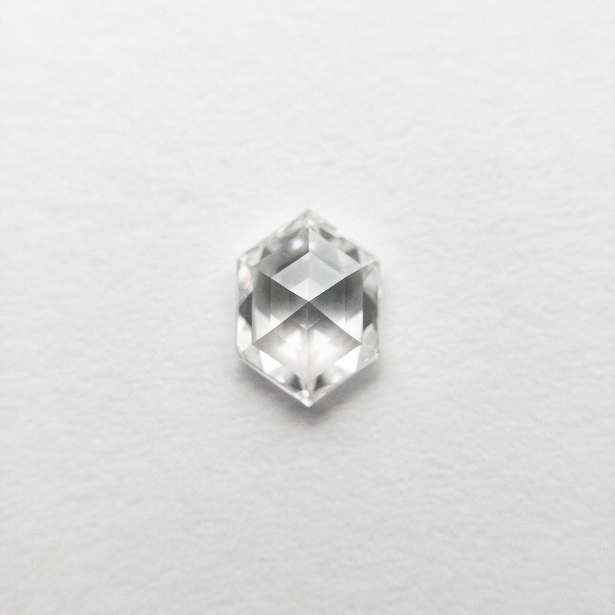 0.57ct 6.17x4.48x2.64mm VVS1 G Hexagon Rosecut 18458-06 🇷🇺