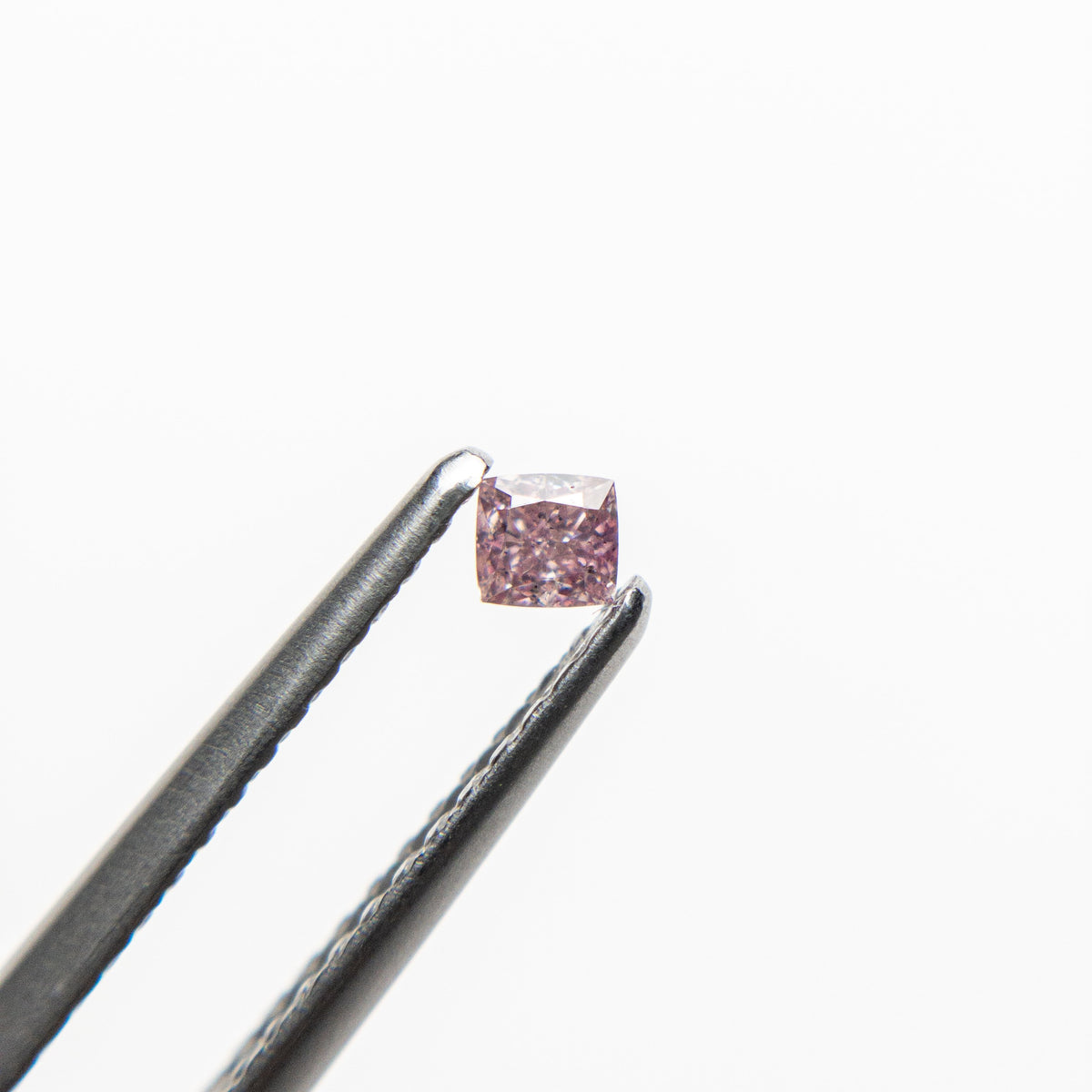 0.08ct 2.38x2.24x1.58mm Argyle Fancy Intense Purple Pink Cushion Brilliant 18680-05