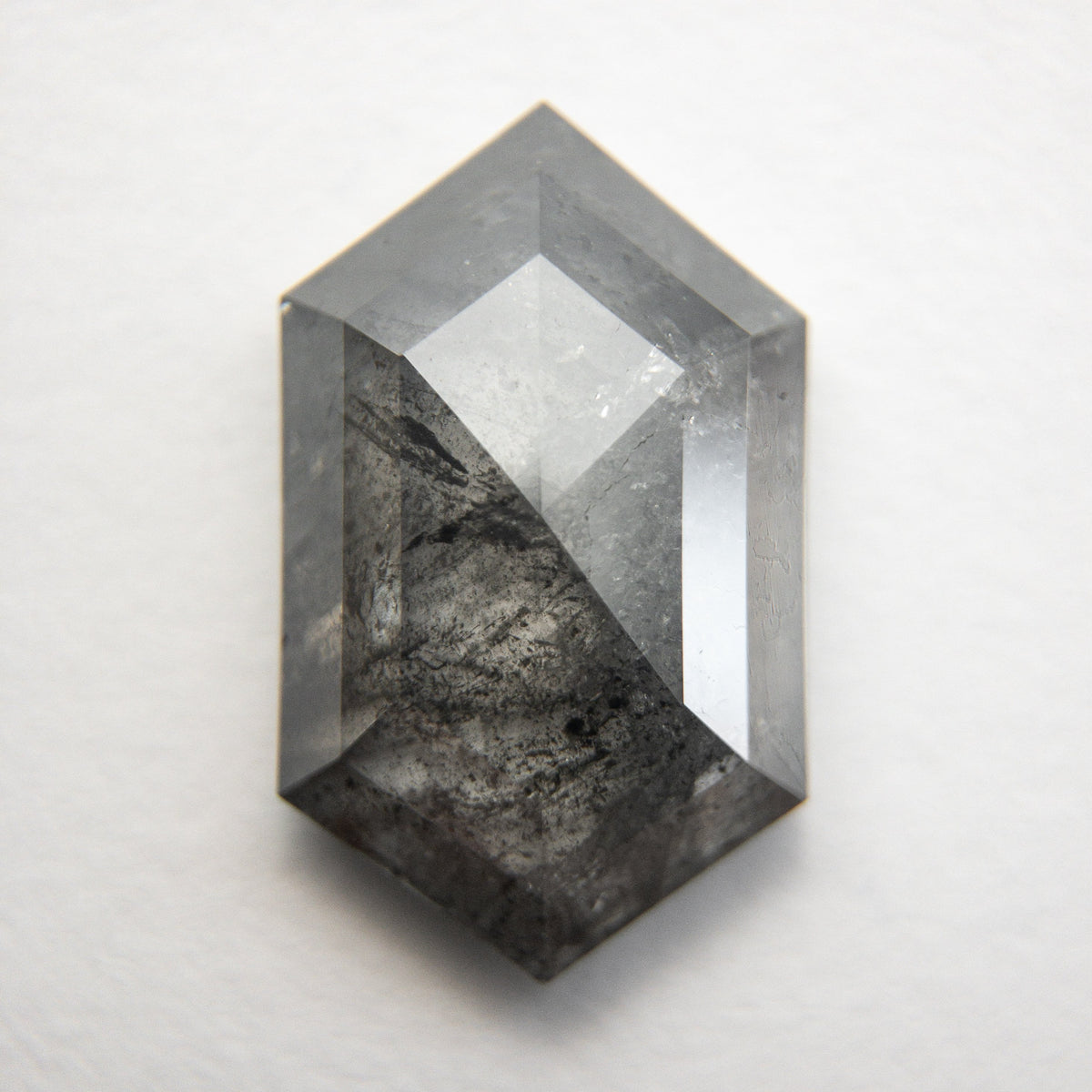 3.59ct 13.41x8.14x3.52mm Hexagon Rosecut 18818-01