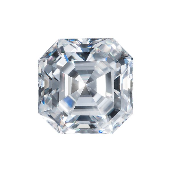 Asscher cut Moissanite by Harro Gem