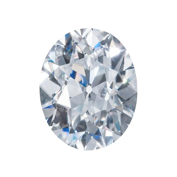 Old Mine Cut Oval Cut Moissanite by Harro Gem