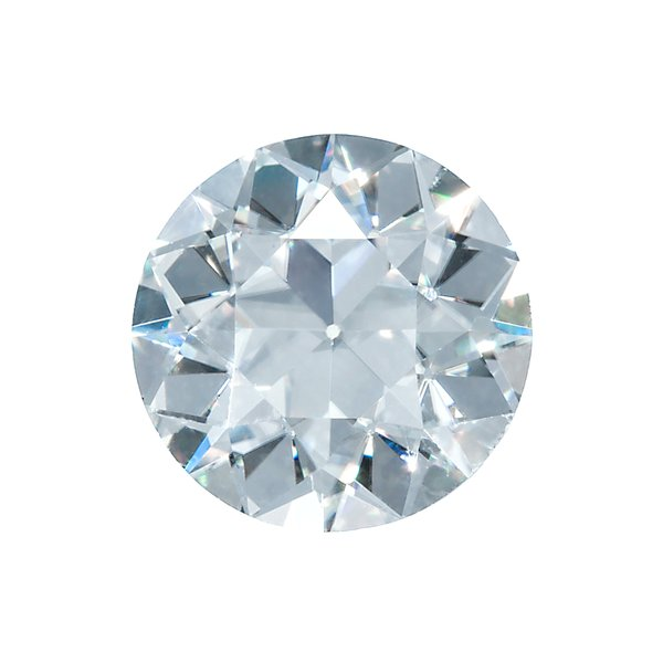 Old European Cut Moissanite by Harro Gem