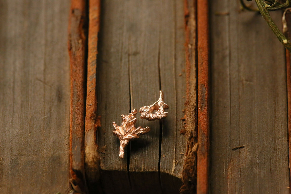 The Rosemary Sprig Single Earring