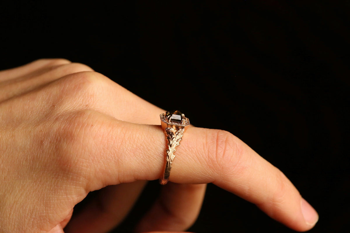 The Hinterland Ring in Green Diamond