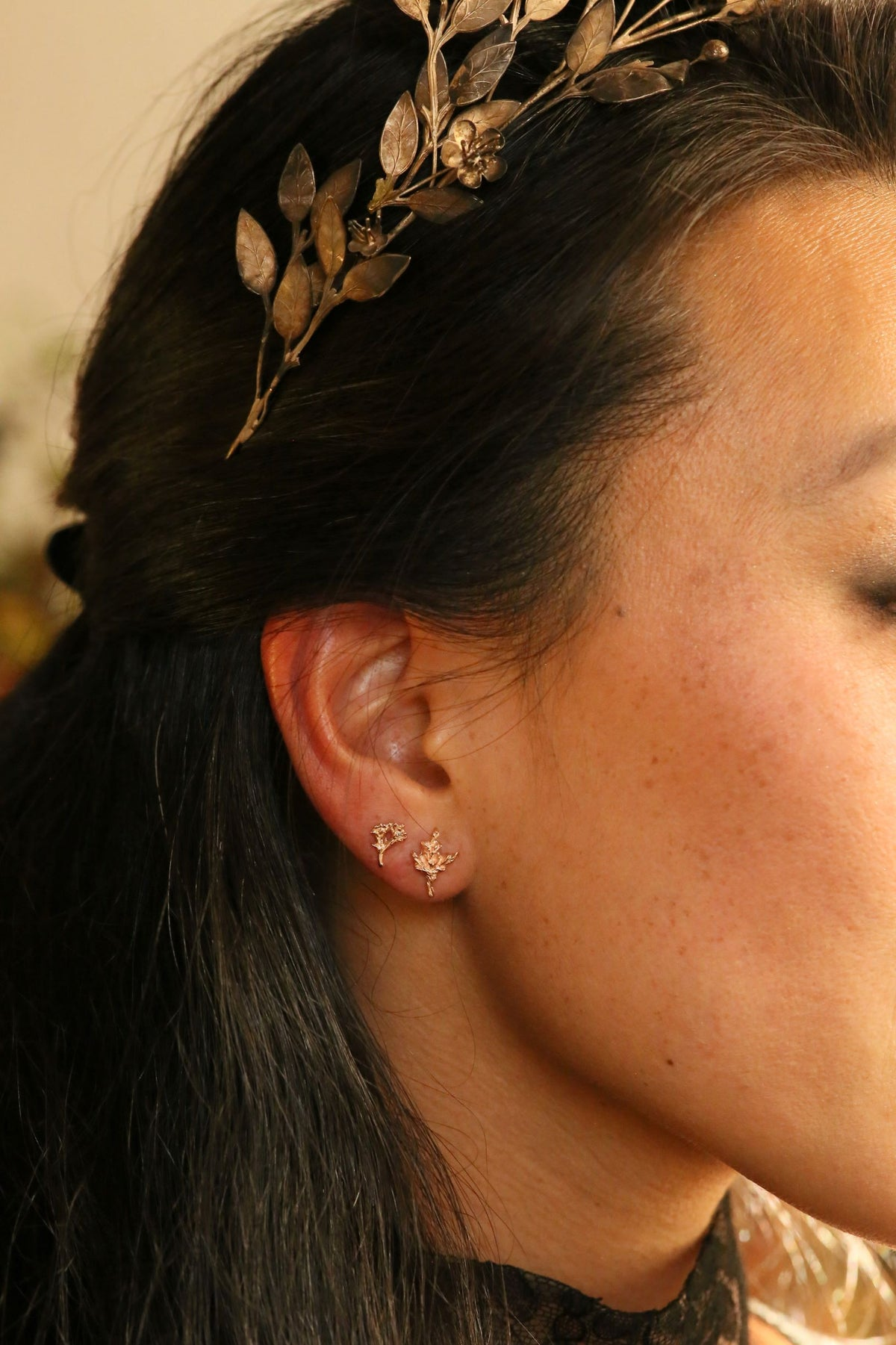The Meadowsweet Single Earring