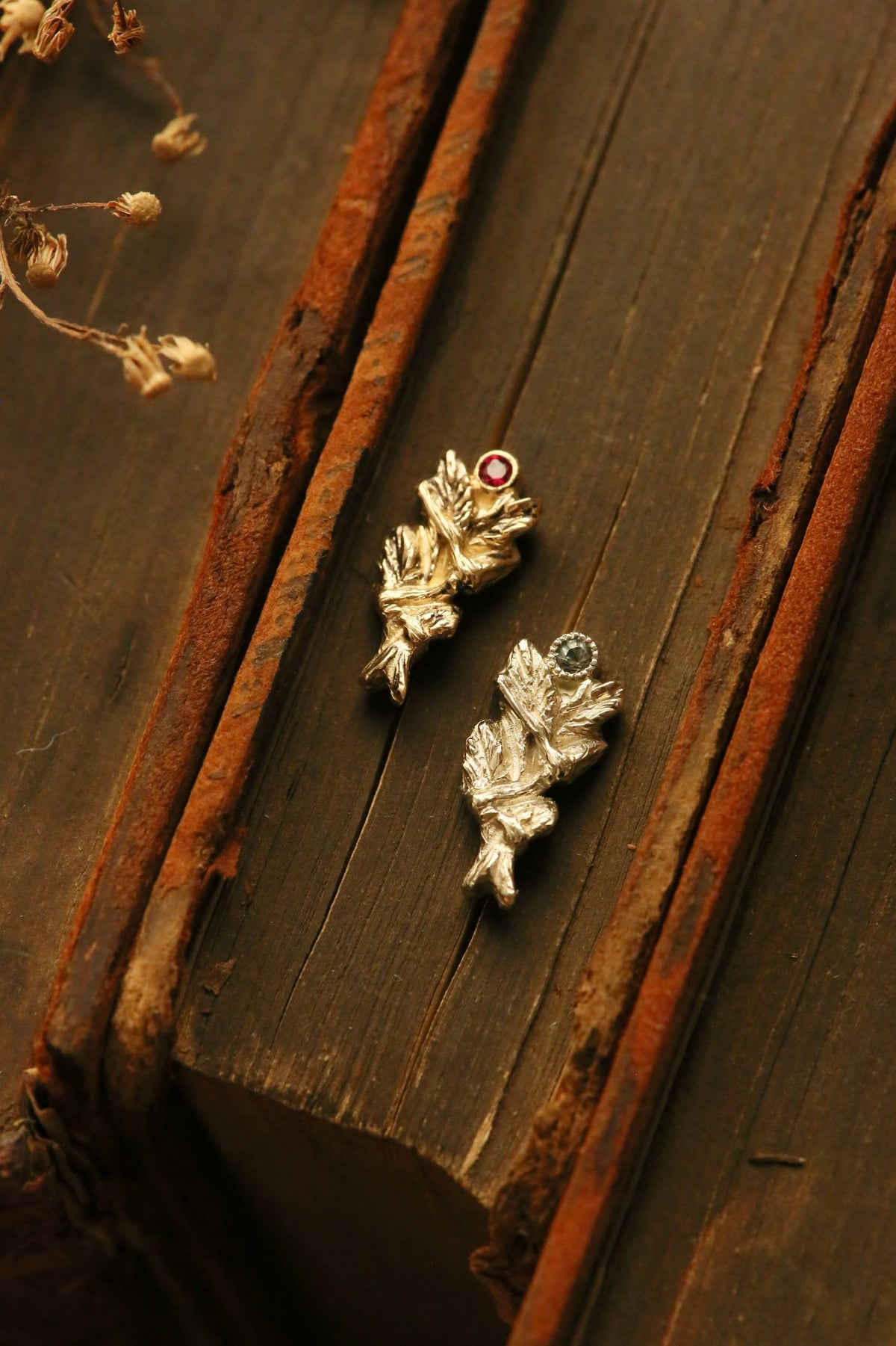 The Sage Bundle Burnt Single Earring